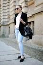 Light-blue-zara-jeans-black-zara-blazer-black-asos-flats
