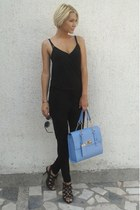 Orsay bag - Zara sunglasses - New Yorker bodysuit - Aldo sandals