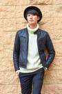 Black-black-vintage-hat-black-black-leather-vintage-jacket