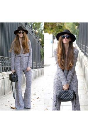 H&M hat - Zara bag - Zara bodysuit