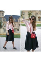 OASAP shirt - pull&bear bag - Choies skirt