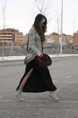 Primark boots - PERSUNMALL dress - Primark hat - PERSUNMALL sweater