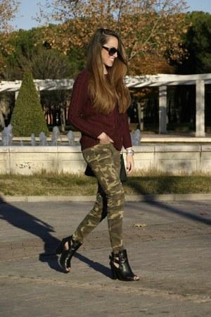 Primark boots - OASAP sweater - Zara pants