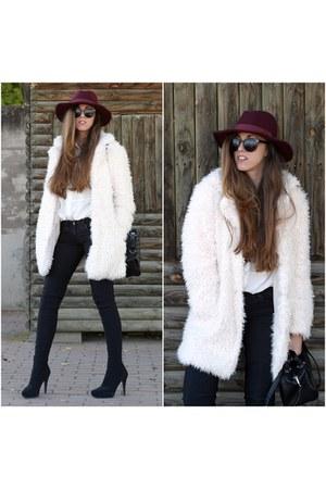 Primark coat - Marypaz boots - Primark hat