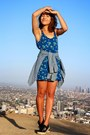 Blue-hollister-dress-light-blue-gap-shirt-navy-superga-sneakers