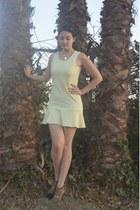 aquamarine chiffon PERSUNMALL dress