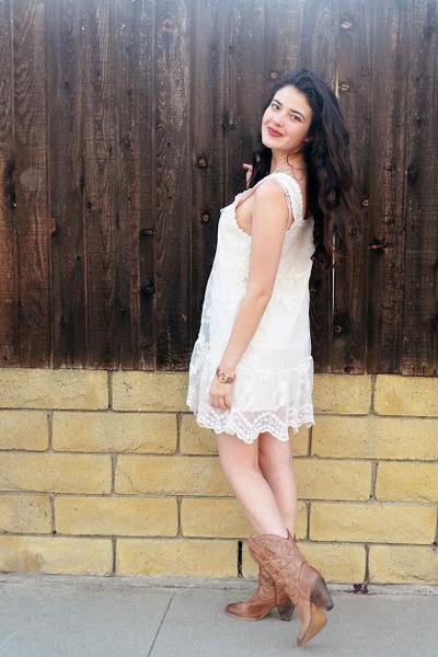 Lace White Dress dress