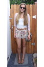 Heather-gray-target-bag-beige-lipsy-london-shorts-black-ray-ban-sunglasses-