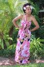 Pink-target-dress