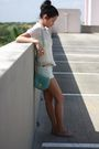 Beige-target-blouse-yellow-forever-21-top-yellow-american-eagle-shorts-blu