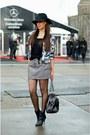 Black-blink-boots-black-myca-couture-hat-black-avanti-shirt-black-zara-bag