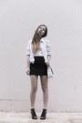 White-vintage-blazer-black-cotton-h-m-skirt-white-cotton-tvoe-top