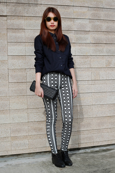 Topshop leggings - Topshop shirt