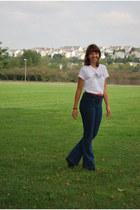 Forever 21 jeans - vintage t-shirt