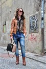 Brown-stradivarius-boots-brown-stradivarius-jacket