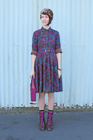 Most Wanted Vintage boots - Most Wanted Vintage dress