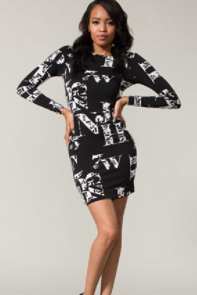 Alphabet Dress dress