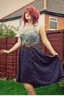 Newlook-shoes-primark-belt-dip-hem-tk-maxx-skirt-floral-topshop-blouse