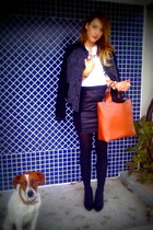 pull&bear jacket - Zara bag - Zara accessories - Primark heels