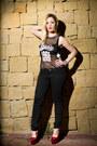 Black-bershka-jeans-black-monochrome-cuff-fendi-bracelet