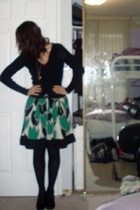 jacket - Rue 21 necklace - Rue 21 skirt - top