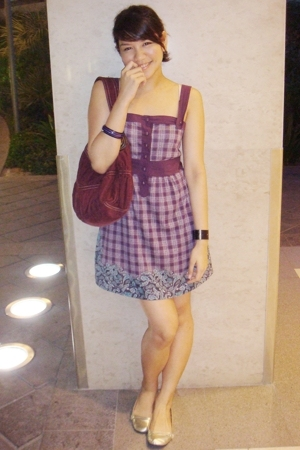 Pull & Bear dress - River Island shoes