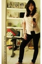 Koton jeans - Zara blouse - Mango top