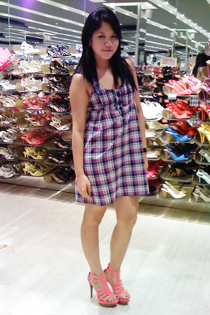 Pull & Bear dress - new look shoes