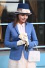 Puce-thomas-munz-boots-blue-handmade-hat-sky-blue-massimo-dutti-jacket