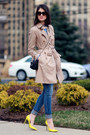 Banana-republic-coat-juicy-couture-jeans-prada-sunglasses-gucci-pumps
