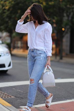 Birkenstock sandals - Furla bag
