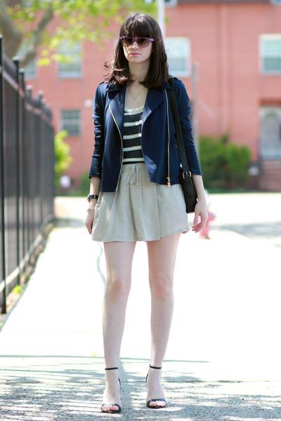 Mango shorts - C Wonder jacket - Juicy Couture bag - ray-ban sunglasses