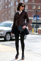 SANDRO jacket - Marc by Marc Jacobs bag - Ray Ban sunglasses