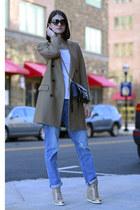 Rebecca Minkoff bag - Prada sunglasses - Jimmy Choo sneakers
