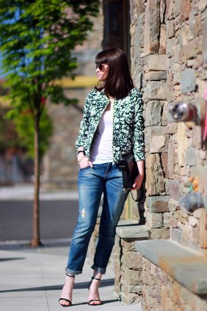 Zara jeans - Zara jacket - Juicy Couture sunglasses - Zara sandals