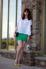 Juicy-couture-sunglasses-gucci-heels-herve-leger-skirt