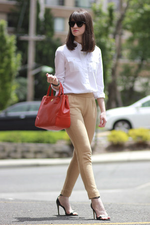 Zara shoes - C Wonder shirt - tory burch bag - JUICY  COUTURE pants