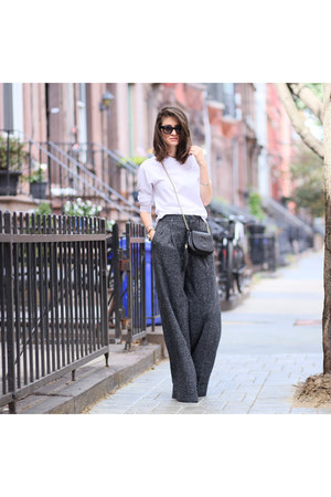 Gucci bag - Zara pants - American Apparel top
