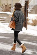ASH boots - SANDRO coat - Hermes bag - vince pants
