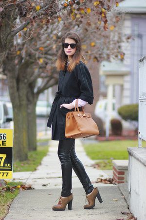 Luxury Rebel shoes - Juicy Couture coat - Hermes bag