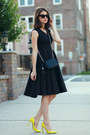Anthropologie-dress-gucci-bag-gucci-heels