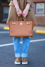 All-saints-coat-american-apparel-jeans-hermes-bag-prada-sunglasses