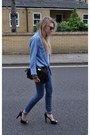 Denim-primark-jeans-denim-topshop-shirt-feather-aldo-bag-black-forever-21-