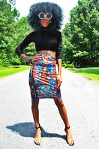 Romwe Dress Turned Skirt skirt
