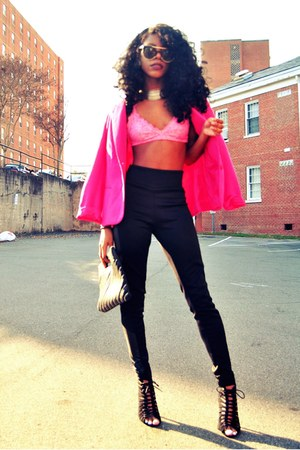 black Forever 21 heels