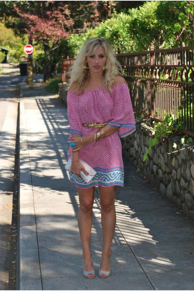 pink Tolani dress