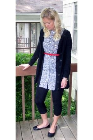 Target dress - Target leggings - Flexx flats - Target belt