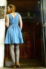 Blue-asos-dress-brown-leopard-print-accessorize-tights