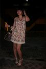 Blanco-shoes-bershka-dress-lv-bag-h-m-necklace