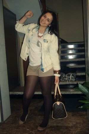 H&amp;M accessories - Zara jacket - H&amp;M necklace - BLANCO shoes - Zara t-shirt - BLA